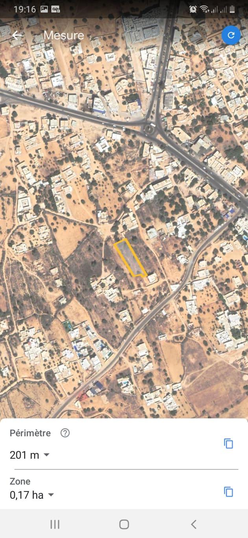 Beau terrain au centre ville Midoun