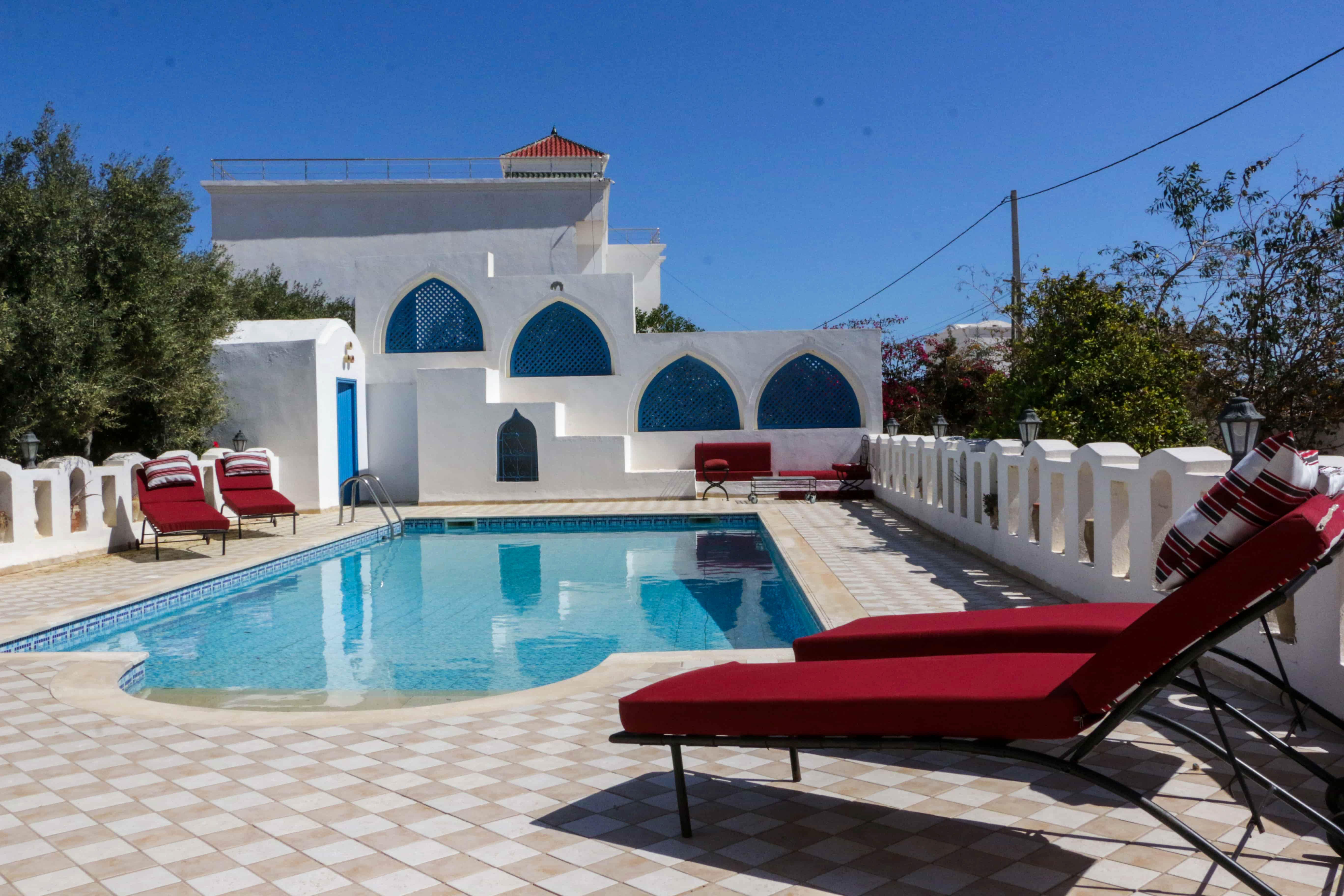 Bougainvillier villa de vacances avec piscine a Djerba
