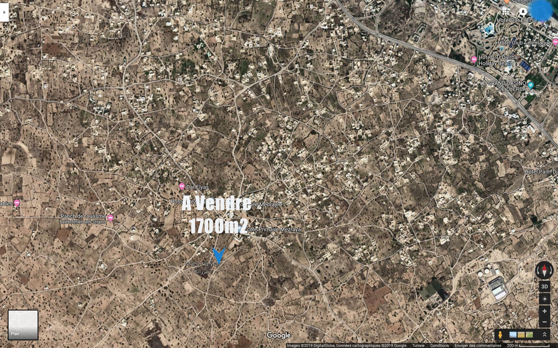 terrain pres du centre de mezraya titré