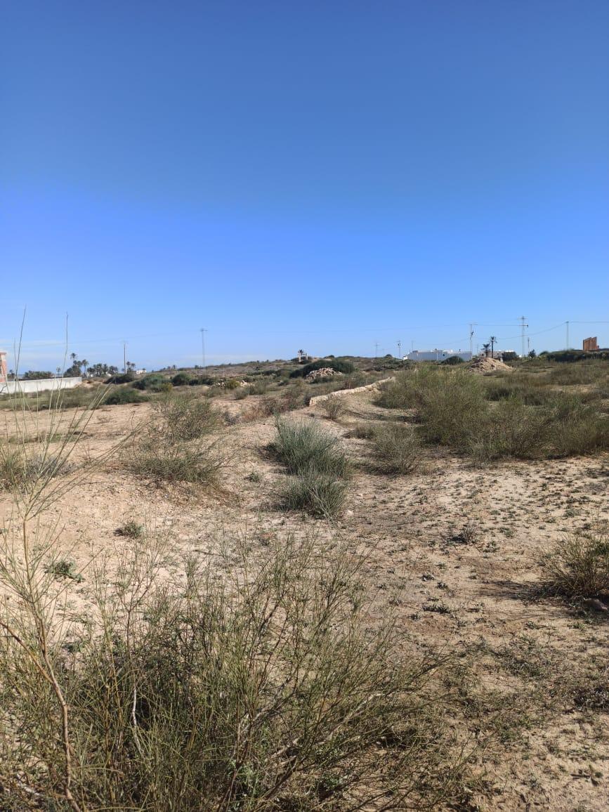 Terrain d'habitation titre bleu et permis de bâtir vue mer