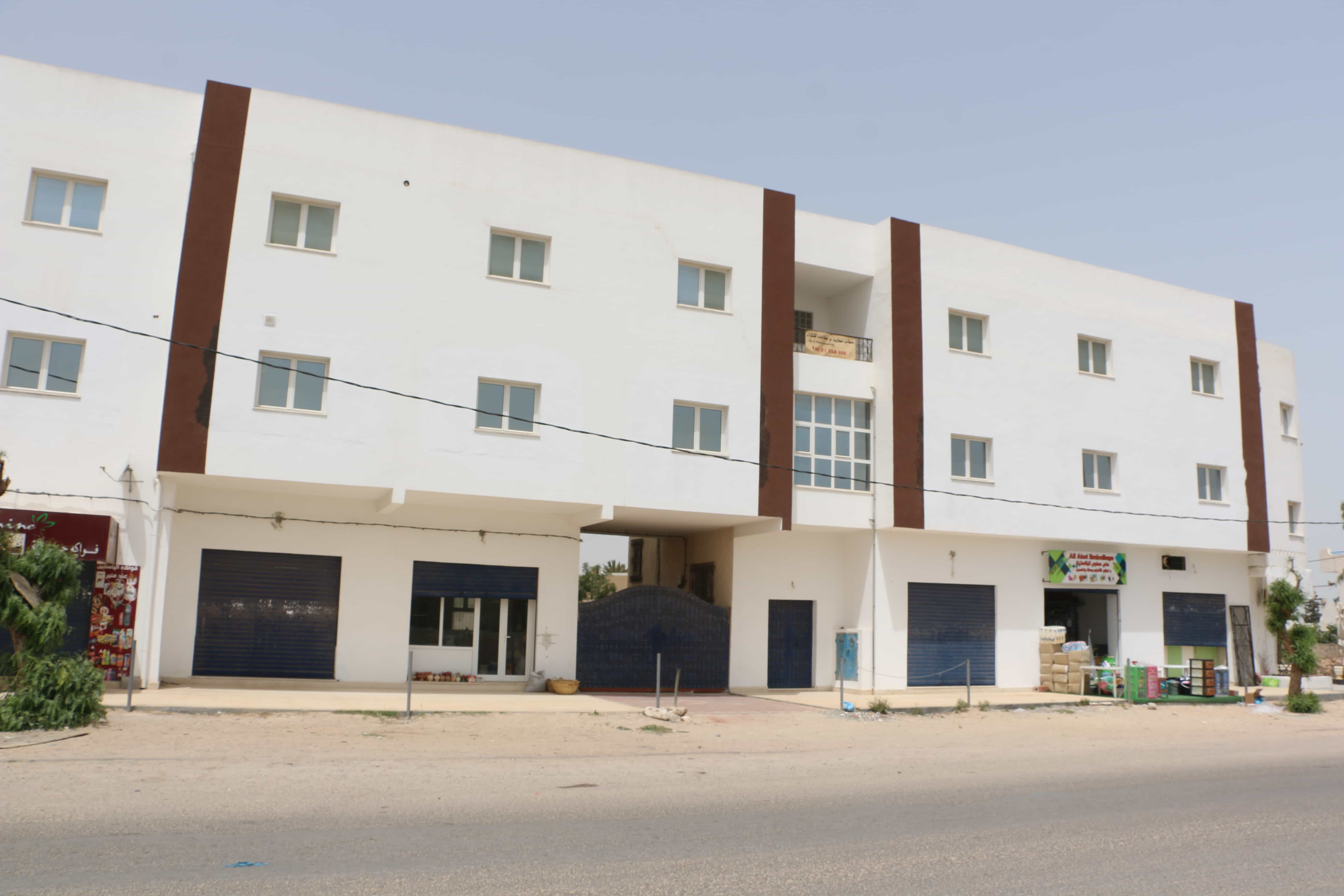 6 dépôts de stockage à Djerba Midoun