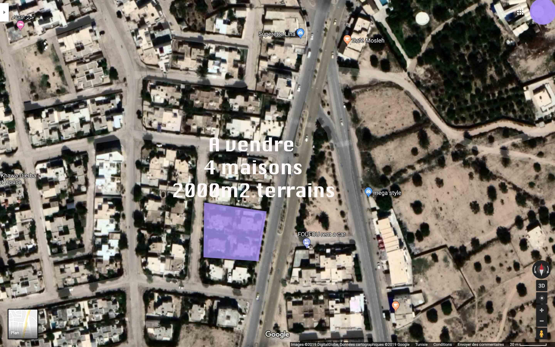 plusieurs maisons a vendre a midoun Djerba